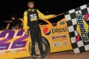 Jimmy Thomas won the March 17 Crate Late Model opener at the newly reopened 441 Speedway in Dublin, Ga. (South Georgia Racing)