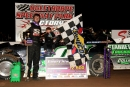 Travis Pennington of Stapleton, Ga., won Saturday's NeSmith Winter Series finale at Oglethorpe (Ga.) Speedway Park, completing a $4,500 two-day series sweep. (Mark Dhaemers/South Georgia Racing)