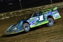 Josh Richards of Shinnston, W.Va., heads for a $10,000 victory in the Steel Valley 50. (heathlawsonphotos.com)