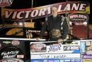 Steve Laursen earned $3,000 for his 11th career WISSOTA Shaw Trucking Challenge Series victory. (Taylor Samuelson)