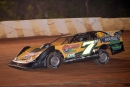Donald McIntosh led all 35 laps July 18 at 411 Motor Speedway in Seymour, Tenn., for his second career Schaeffer Oil Southern Nationals victory. (Brian McLeod)